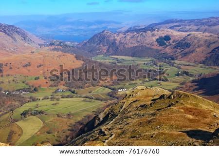 Lake District National Park - stock photo