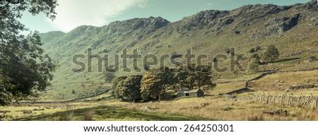 Lake District, UK - stock photo