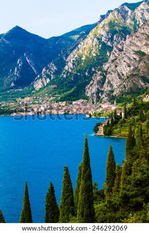Lake Garda - Italy - stock photo