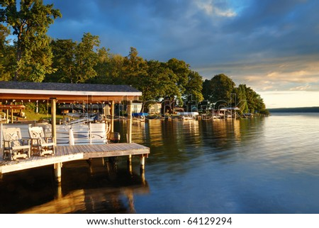 Lake House Stock Photos Images Amp Pictures Shutterstock