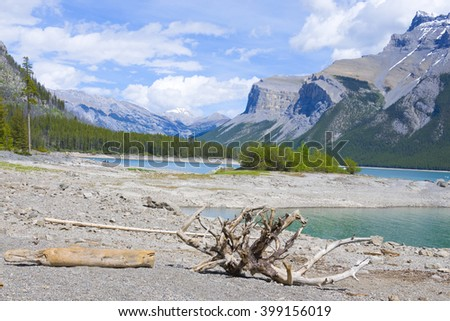 Lake in Banff National Park, Alberta, Canada