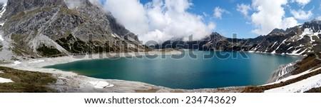 lake Lüner See - stock photo