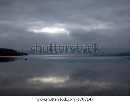 Lake Lipno, Czech Republic