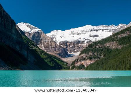 Lake louise at Banff national park, Canada - stock photo