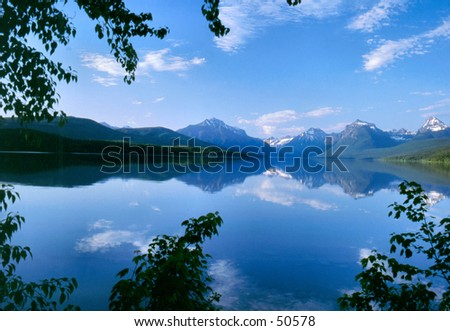 Lake McDonald - stock photo