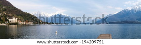Lake of Como, Italy: Images on the lakefront between Dongo and Gravedona