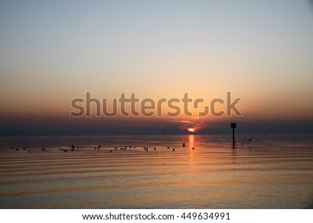 Lake of Constance Sunset, Lindau