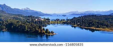 Lake Perito Moreno, Bariloche, Argentina - stock photo