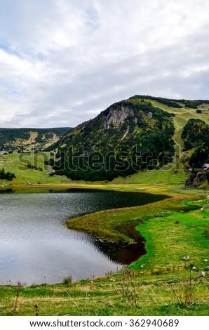 Lake Prokosko / Bosnia and Herzegovina - stock photo
