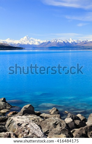 Lake Pukaki, South Island New Zealand
