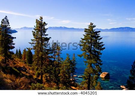 Lake Tahoe - stock photo