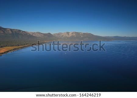 Lake Tahoe in California - stock photo