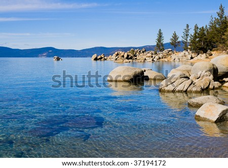 Lake Tahoe in Summer - stock photo