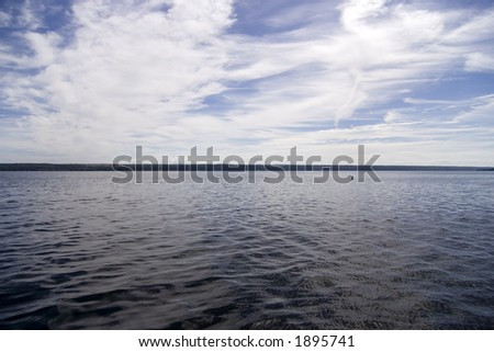 Lake View - stock photo