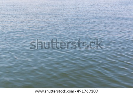 Lake water surface texture nature background.