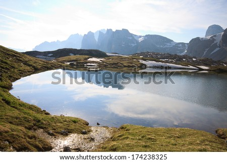 lakes of Plans (Dolomites)