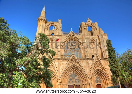 Lala Mustafa Pasha Mosque formerly St. Nicholas Cathedral in Famagusta