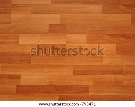 laminated flooring alder - stock photo