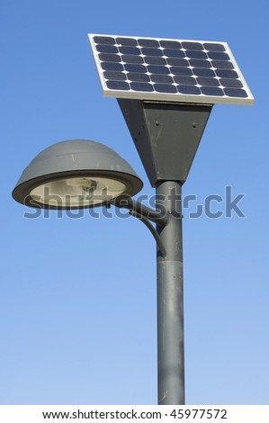 Solar Lamp Post Lights Stock Images, Royalty-Free Images & Vectors ...