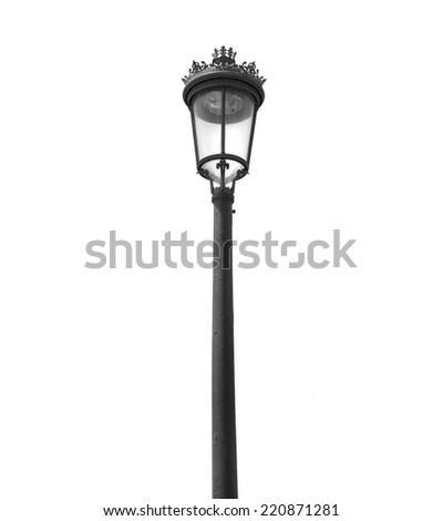 lamppost - stock photo