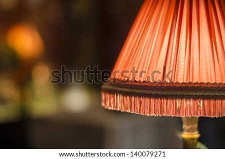 Lampshade  - stock photo