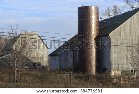 Lancaster county barns