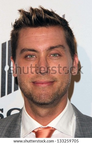 Lance Bass at the L.A. Gay And Lesbian Center Hosts 'An Evening' honoring Amy Pascal and Ralph Ricci, Beverly Wilshire, Beverly Hills, CA 03-21-13 - stock photo