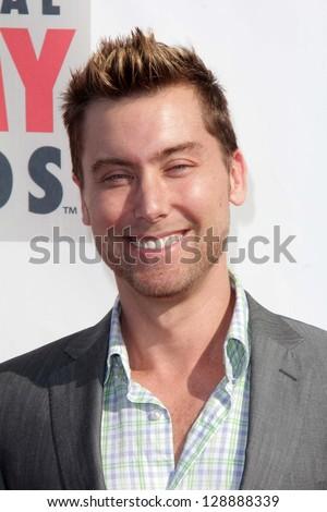 Lance Bass at the 3rd Annual Streamy Awards, Hollywood Palladium, Hollywood, CA 02-17-13 - stock photo