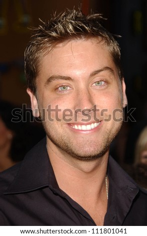 """Lance Bass at the World Premiere of """"I Now Pronounce You Chuck and Larry"""". Gibson Amphitheatre, Studio City, CA. 07-12-07 - stock photo"""