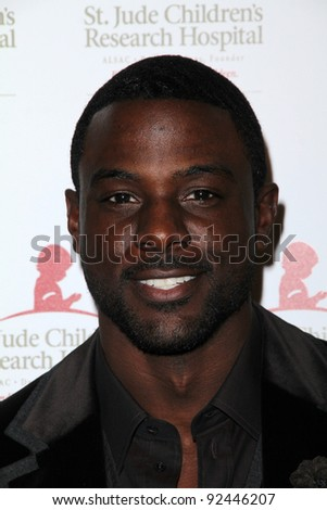 Lance Gross at the St. Jude Children's Research Hospital 50th Anniversary Gala, Beverly Hilton, Beverly Hills, CA 01-07-12 - stock photo