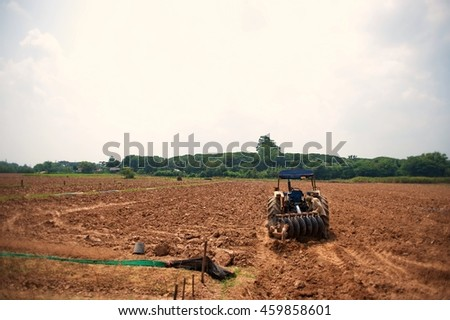 land preparation for agriculture farm
