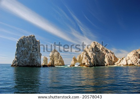 Land's End Cabo Arch - stock photo