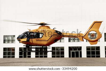 landing emergency helicopter
