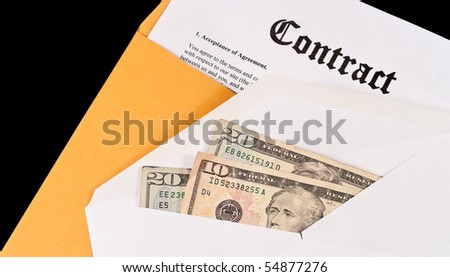 Landing The Deal ( Business Concept ) - stock photo