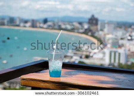 Landmark Pattaya Viewpoint   - stock photo