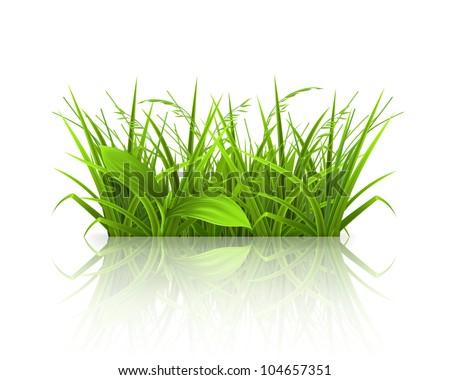 Landscape background, bitmap copy - stock photo