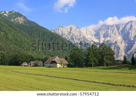 Landscape from Slovenia - stock photo