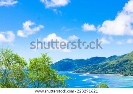 Landscape Harbor Sea  - stock photo