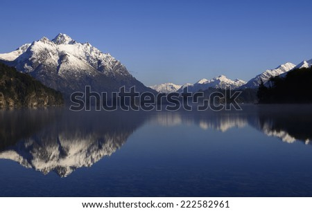 Landscape in Argentina - stock photo