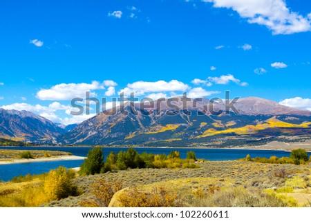 Landscape in Colorado - stock photo
