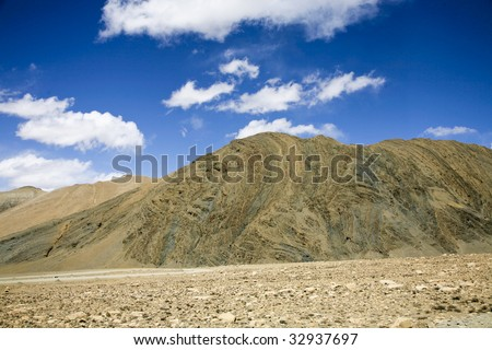 landscape in tibet, china