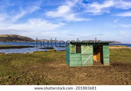Landscape - Isle of Mull - Inner Hebrides of Scotland - stock photo
