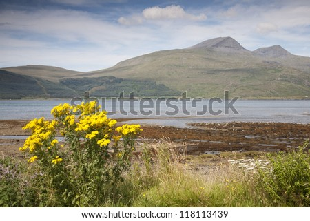 Landscape; Isle of Mull; Scotland, UK