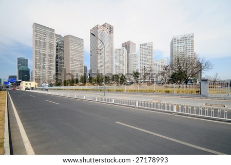 Landscape of City - stock photo