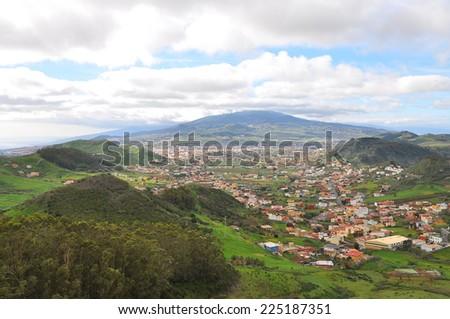 Landscape of Gran Canaria - stock photo