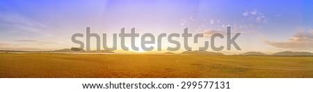 Landscape of Panorama. - stock photo