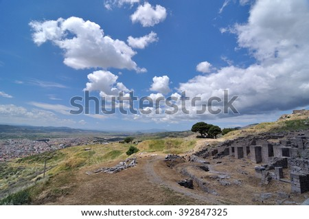 Landscape of Pergamon