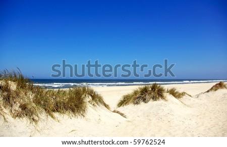 Landscape of portuguese coast. - stock photo
