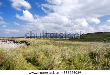 Landscape of Sligo, Ireland - stock photo