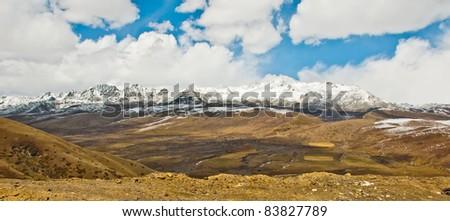 Landscape of tibet - stock photo